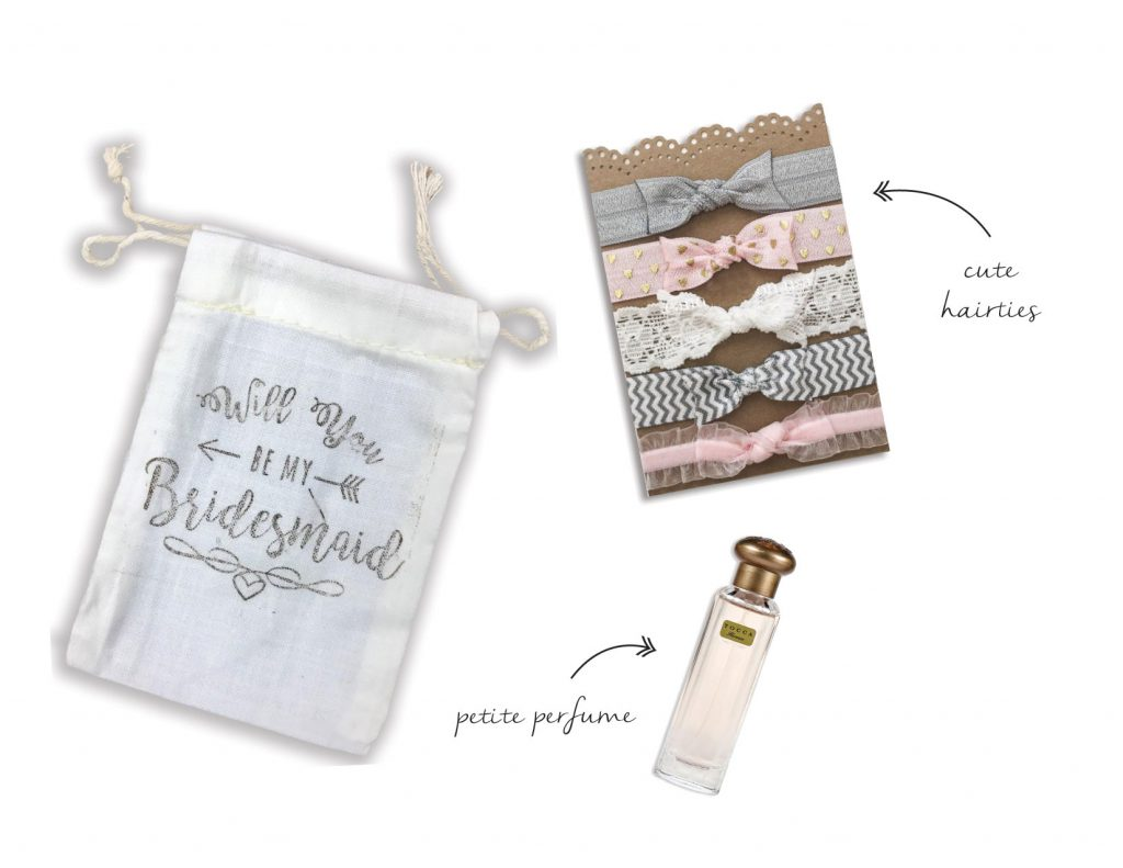 Will you be my bridesmaid bags
