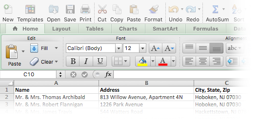 How to Mail Merge in Excel