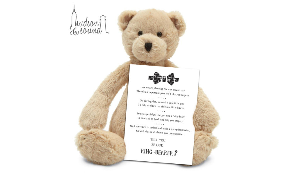 """Will You Be My Ring Bear-er?"" – Ring Bearer Gift"